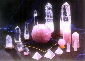 Crystals - One of the many Feng Shui Tips on offer