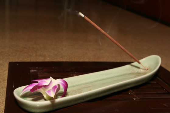 Incense is one of the space cleansing tools that you can use