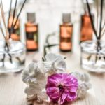 Fragrance and flowers that are used as space cleansing tools.