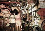 A cluttered small and cramped room in Hong Kong.