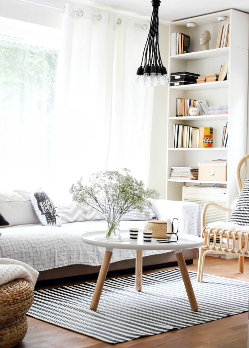 A clean and organized living room is the best Feng Shui project that you can do.